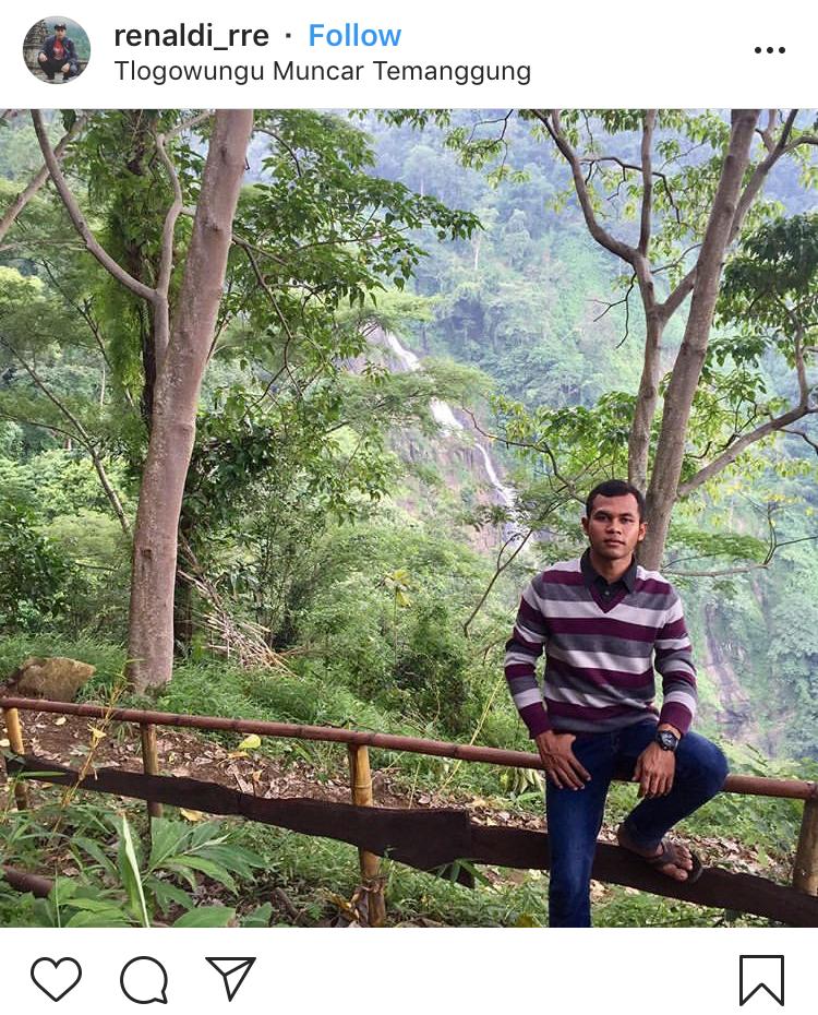 Pemandangan di Tlogowungu Muncar Temanggung