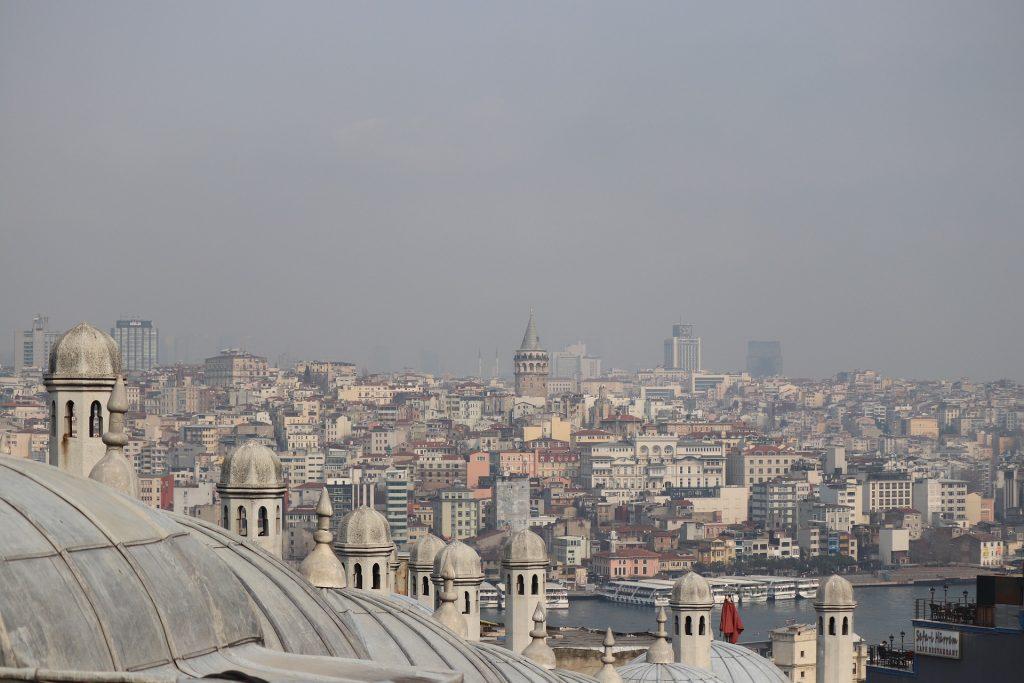 Pemandangan kota Istanbul