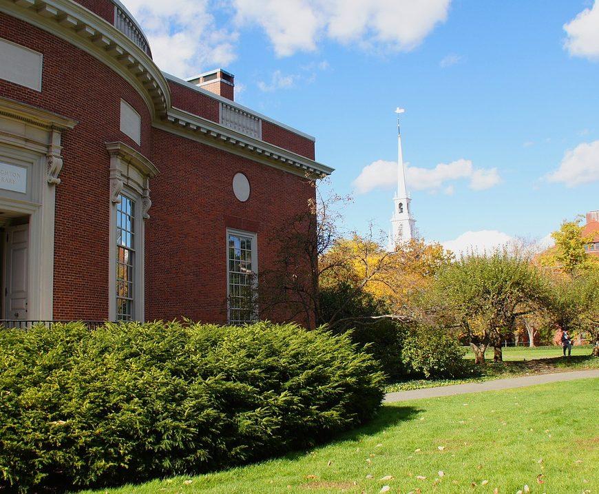 harvard library campus cambridge
